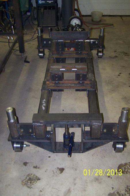 Tractor Splitting Tools : Fabrication gallery